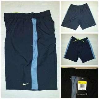 Nike Dry Fit 波褲 黑灰色