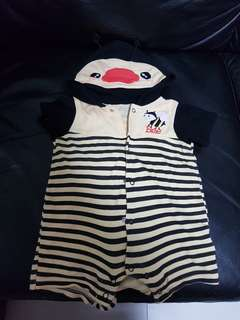 Bumble Bee romper for babies