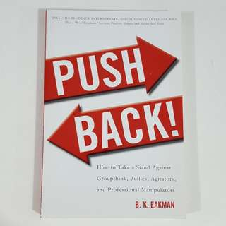 Push Back by B. K. Eakman