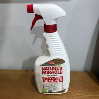 Nature's Miracle stain remover