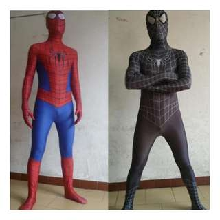 High quality spiderman costume for both adult and kid