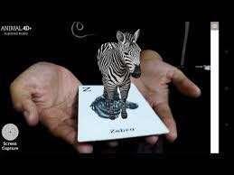 BN Octagon Studio Animal 4D+ alphabet cards