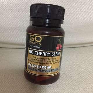 SALE 50% Off - BN sealed Go Healthy Go Cherry Sleep 30 vege capsules.