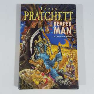 Reaper Man by Terry Pratchett [Hardcover]