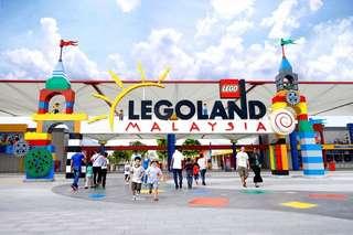 2 Tiket Legoland Malaysia