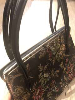La Blanche vintage 60's tapestry bag古董 復古手袋