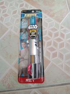 Firefly Star Wars Rey Lightsaber Kids Toothbrush, Soft 1ct
