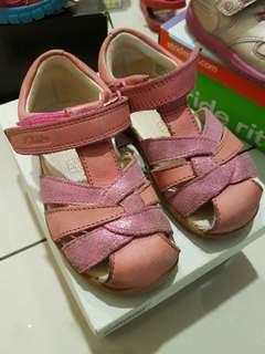 Clarks First Shoes Softly Mae Fst