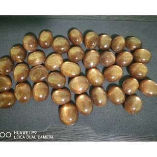 Natural Confetti Sunstone Oligoclase Aventurescence Feldspar. Tanazania Gem. 100% Natural. (Per piece)
