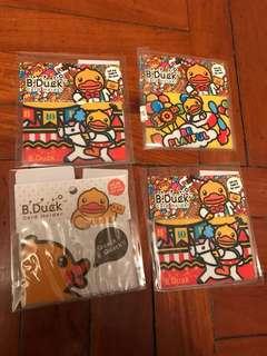 B duck八達通套 card holder 10週年紀念版 $10/1個 $15/2個