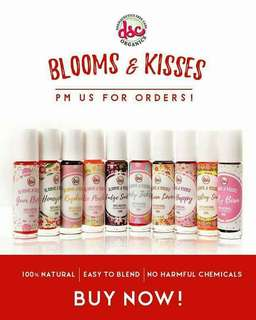 Blooms & kisses