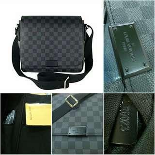 SALE Louis Vuitton District PM LV Bag LV Messenger Bag Sling Bag Men Bag