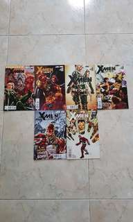 "X-Men Legacy Vol 1 (Marvel Comics 6 Issues; #260.1 & 261 to 265, complete story arc on ""Back to School"")"