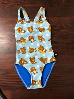 Arena熊仔泳衣3-4歲