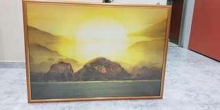 Painting 62cm (H) X 88cm (L)