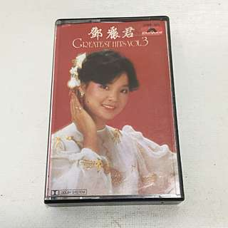 Teresa Teng Deng Lijun 鄧麗君 邓丽君 1982 Greatest Hits Vol 3 Polydor Music Cassette
