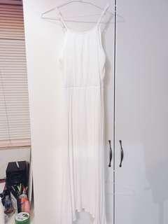 🚚 全新 全白洋裝
