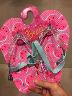 Flip flops with straps