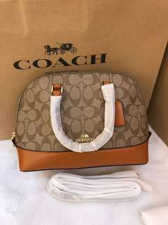 Original coach women mini Sierra handbag sling bag crossbody bag