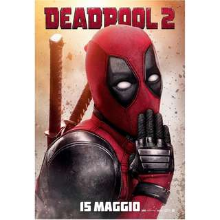 Deadpool 2 movie posters full sized final design
