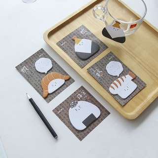 Sushi & Onigiri sticky notes /post its