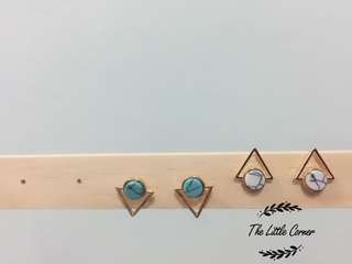 *RAMADAN SPECIAL* RM19.90 ONLY STYLISH TRIANGLE EARRINGS