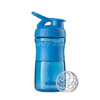 BlenderBottle SportMixer, 591ml/20oz CYAN inc. BlenderBall® wire whisk