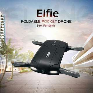 JJRC H37 ELFIE Foldable Selfie WiFi FPV 720PHD Mini Quadcopter Drone
