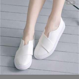 🚚 amai 素面寬帶休閒鞋39