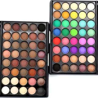 🦋POPFEEL 40 Makeup Eye Shadow Earth Colors Matte Pigment Eyeshadow Palette🦋