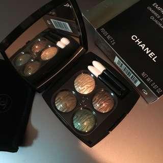Chanel Eyeshadow quad 四色眼影