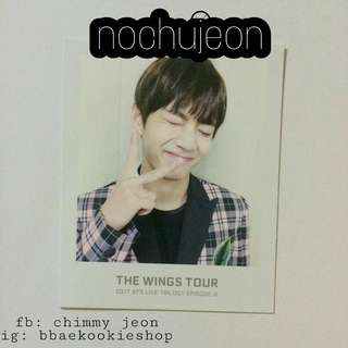 TAEHYUNG THE WINGS TOUR / TWT PHOTOCARD