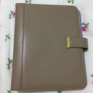 Kikki K leather planner