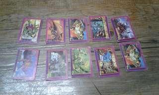 Rare Deathwatch 90's teks cards SET 2