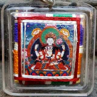Vesak day special (Tibetan paper amulets) (chenrezig avalokiteshvara chakra)