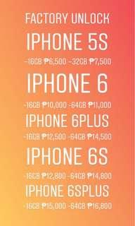 Iphone 5s, 6, 6+, 6s, 6s+, 7