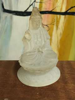 觀世音佛祖,蓮花指/露水壺 細部都保存完好
