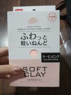 Daiso Soft Clay Salmon Pink