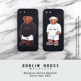 Gucci Calvin Bear iPhone Case
