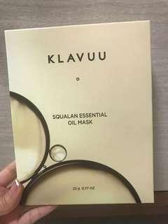 **Highly raved!**Klavuu Squalan Essential Oil Mask