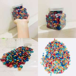 Colorful Wax seal star beads for traditional wax seal stamps wedding invite metallic lid cap jar container bottle