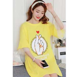 純棉孕婦連衣裙(3色)YF62586 說明:商品敘述裡
