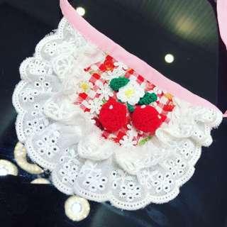 Handmade bandanna collar
