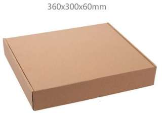 20 Kraft Corrugated Paper Boxes
