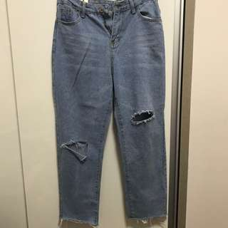 BRAND NEW RIPPED JEANS FROM KOREA