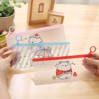 Sumikko Gurashi Transparent PVC Pencil Case