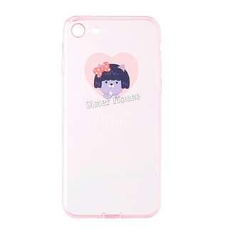 (包郵)🇰🇷Kakao Friends Neo Pink Clear Phone Case 粉紅透明手機殼