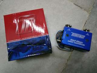 Turbosmart boost controller dual stage and boost tee new