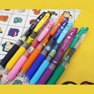 [PO] POKEDOLL SARASA PEN - POKEMON CENTER EXCLUSIVE