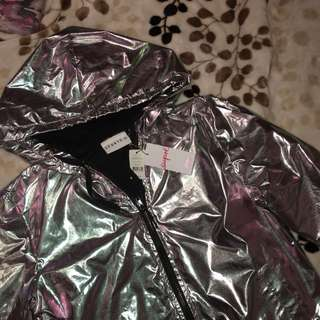 Supre sport holographic jacket